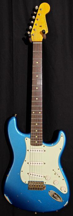 Nash Guitars S-63 Lake Placid Blue - Jesse Gago Guitars