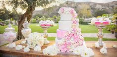 Amazing dessert buffet in this equestrian styled shoot.