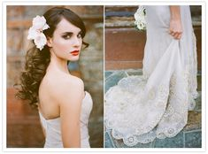 This Anne Barge wedding dress is to die for. Photographer Stephanie Williams #wedding #annebarge
