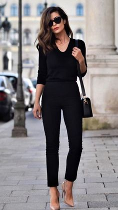 Can't go wrong with all black