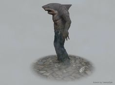 King Shark, Man Hunter, Pacific Rim, Short Film, The Man, Naruto, Lion Sculpture, Marvel, Statue
