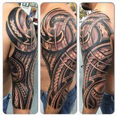 maori tattoos and why Polynesian Tattoo Designs, Maori Tattoo Designs, Tattoo Sleeve Designs, Hawaiianisches Tattoo, Samoan Tattoo, Arm Band Tattoo, Tattoo Thigh, Side Hip Tattoos, Tribal Shoulder Tattoos