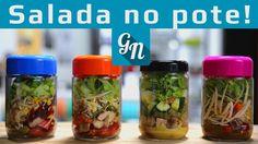 Salada no Pote  #semlactose #semovo