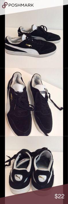 Puma Sneakers Black and White, Sz 12 Like New! Puma Sneakers Black and White, Sz 12 Like New! Puma Shoes Sneakers