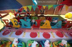 Karlien v Jaarsveld twins' FIRST birthday party!! | Organizit