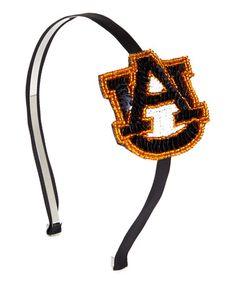 Another great find on #zulily! Auburn Tigers Horseshoe Headband #zulilyfinds