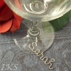 Wine Glass Charms Choose your amount by JewelryCustomDesigns, $6.50
