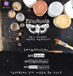 Finnabair Mixed-Media Products - AWESOME new products - check them out on the Prima Blog