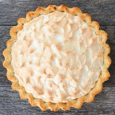 A weep free Lemon Meringue Pie for #SundaySupper.