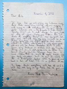 An 11-year-old boy send his Halloween candy to kids affected by Hurricane Sandy.