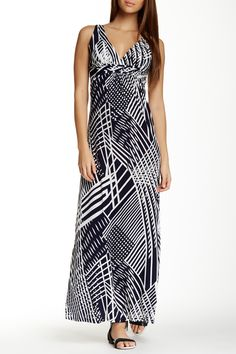 Printed Maxi Dress by Papillon on @HauteLook
