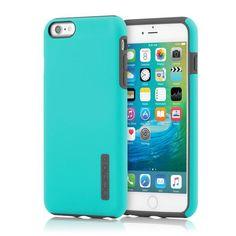 Incipio iPhone 6 Plus / 6s Plus Dual PRO Case - Turquoise / Charcoal