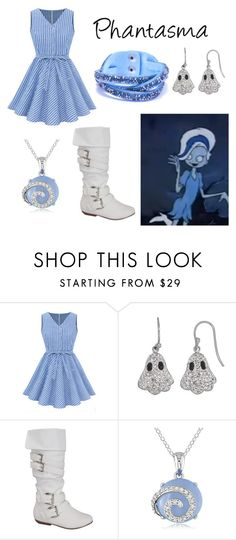 Phantasma from Scooby Doo Ghoul School by krusi611 on Polyvore featuring мода and Ice
