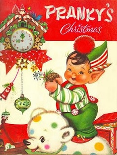 Pranky's Christmas Illustrated by Charlot Byj ~ Vintage Christmas Pop-Up Book ~ Vintage Christmas Images, Retro Christmas, Christmas Items, Vintage Holiday, Christmas Goodies, Xmas, Christmas Holiday, Christmas Decor, Childrens Christmas