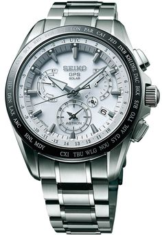 Seiko Astron Watch GPS Solar Dual Time Titanium Pre-Order