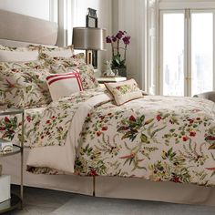 Enliven your bedding with the vibrant Tribeca Living Maui Reversible Duvet Cover Set. With a colorful floral motif against a crisp beige ground, the lovely bedding is an enchanting addition to any room's décor. Cotton Bedding Sets, Queen Bedding Sets, Comforter Sets, Queen Duvet, Maui, Deep Pocket Sheets, Pillow Top Mattress, Bed In A Bag, Duvet Cover Sets