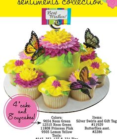 cupcakes & mini cake