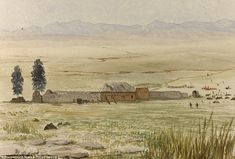 The famous defence of Rorke's Drift house, pictured shortly after the heroic battle to defend the British outpost from the onslaught of upto Zulus, resulted in 11 Victoria Crosses being awarded for valour Zulu Warrior, Man Of Honour, British Soldier, African History, Watercolor And Ink, Beautiful Images, Drawings, Pictures, Special Interest