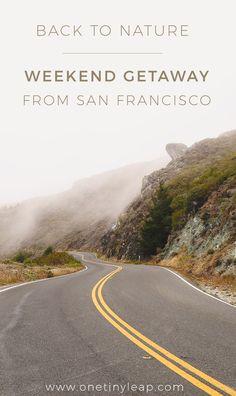The perfect weekend getaway from San Francisco: Muir Woods & Beach + Sausalito.  #weekendbreak #sanfrancisco #muirwoods