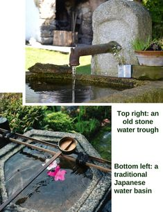 Stunning Water Features You Can Make In A Day - Container Water Gardens Patio Pond, Diy Pond, Ponds Backyard, Garden Ponds, Small Water Gardens, Container Water Gardens, Container Gardening, Small Water Features, Water Features In The Garden