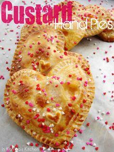 Custard Hand Pies Recipe by @KatrinasKitchen | www.inkatrinaskitchen.com
