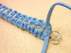 Suede and Chain Macrame Knot Bracelets: 2 Ways - Crafts Unleashed