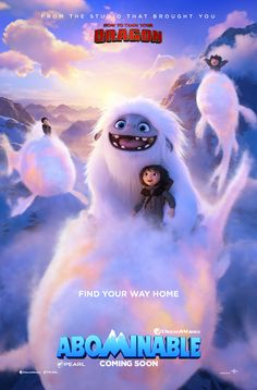 Yi, Everest and the gang come home just in time for the holidays! DreamWorks Animation and Pearl Studio's co-production ABOMINABLE is a magical action-packed adventure for the whole family. Dreamworks Movies, Dreamworks Animation, Animation Film, Tv Series Online, Tv Shows Online, Movies Online, Heros Disney, Disney Pixar, Vestidos