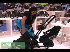 A sneak peek at the new Orbit Baby double stroller - the Double Helix I WANT A BABY SO BAD
