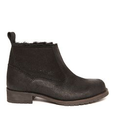 Black Isis Ankle Boot