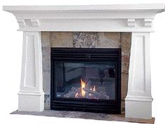 1000 images about fireplace on pinterest craftsman for Craftsman gas fireplace