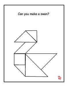 Children's activity and craft templates. Quiet Time Activities, Kids Learning Activities, Toddler Activities, Tangram Printable, Toddler Activity Board, Tangram Puzzles, 1st Grade Science, Science Worksheets, Preschool Education