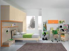 Modern Italian Kids Bedroom VV Composition G017 - $4,799.00