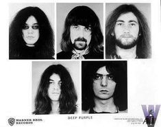 """thedarksideofchildintime: """"Deep Purple Mk II (1969 - 1973; 1984 - 1989; 1993) (Btw I would like to know if someone has a better resolution of the Ritchie photo on the last picture :) ) """""""