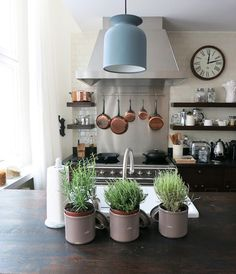 The Lofts at Soho House Berlin: a detail of a kitchen. Cool & Chic!