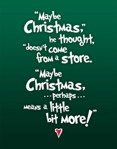 Christmas Subway Art The Grinch Quote by betterlettersart on Etsy