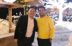 Elyas M'barek und Daniel Stock @STOCKresort, Zillertal, Tyrol, Austria, www.stock.at