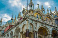 Saint Mark's Basilica by Stéphanie Masson on 500px - The magnificent St. Mark's Cathedral of Venice is the most famous of the city's churches and one of the best known examples of Italo-Byzantine architecture.