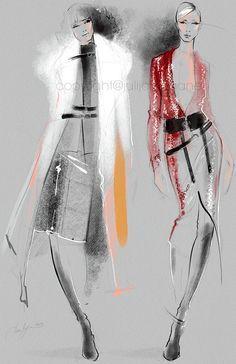 Tom Ford Fashion illustration print Poster art от JulijaLubgane