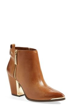 Vince Camuto 'Amori' Pointy Toe Leather Bootie (Women) available at #Nordstrom