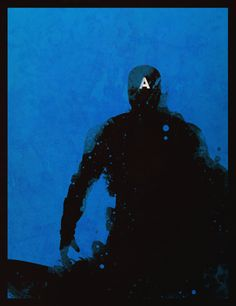 Captain America minimalist poster. Click to view the rest of the set. #Marvel #Avengers