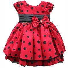 Vestido de Festa Infantil - Estilo Festa Disney Minnie por: R$ 129,80