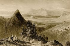 Athens from mount Hymettus | Wordsworth, Christopher | 1882 | Η Αθήνα από τον Υμηττό |