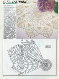 0_841a9_8e52945_orig (1204×1600) Crochet Tablecloth Pattern, Free Crochet Doily Patterns, Crochet Potholders, Crochet Art, Filet Crochet, Crochet Doilies, Crochet Flowers, Crochet Stitches, Crochet Dreamcatcher Pattern
