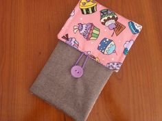 iPhone 7 Fabric Case , Handmade Pouch iPhone 6 Plus, Galaxy s7 Edge sleeve cover #Driworks