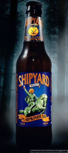 Pumpkinhead | Beer Labels in Motion