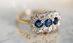 15 Beautiful Engagement Rings That Are The Very Best 'Something Blue' | The Huffington Post