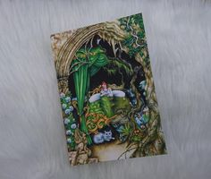 Fairy Ointment Greetings Card - art based on story from Welsh Folklore - unusual new baby card! Baby Eyes, Bag Display, New Baby Cards, Art Base, Message Card, Pyrography, White Envelopes, Welsh, Folklore