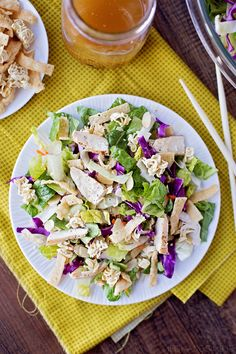 Crisp and Crunchy Asian Ramen Salad