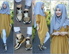 Tunika - City Abaya Pants / Hose / Pantolon - H&M  Hijab / Kopftuch / Basörtü - im Online Shop Hijab 195 Shoes / Schuhe / Ayakkabilar - High K.C (Istanbul Sisli)