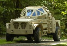 ULTRA AP (Armored Patrol) Military Combat Vehicle Concept